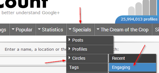 Circle Count - How to Get More Google+ Followers